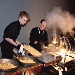 Show-Cooking von Berrymans