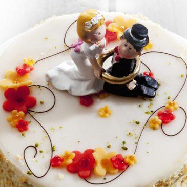 Eine meisterhafte Hochzeitstorte