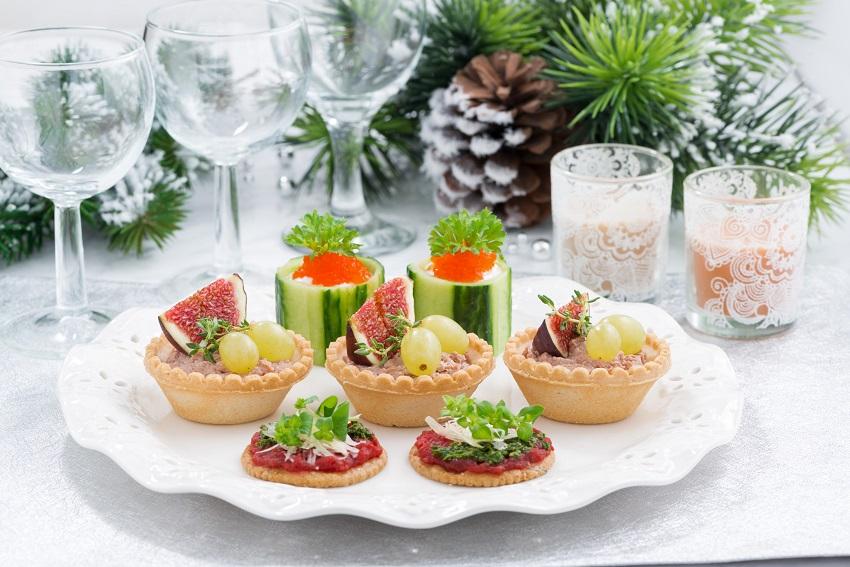Fingerfood auf Weihnachtsfeier Hannover