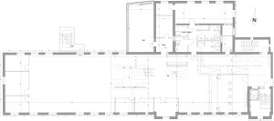 Berrymans Locations | Transformationswerk Grundriss 1.OG