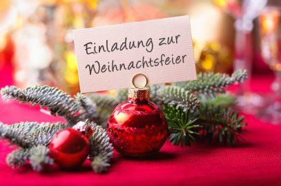 So wird Ihre Weihnachtsfeier die perfekte Veranstaltung