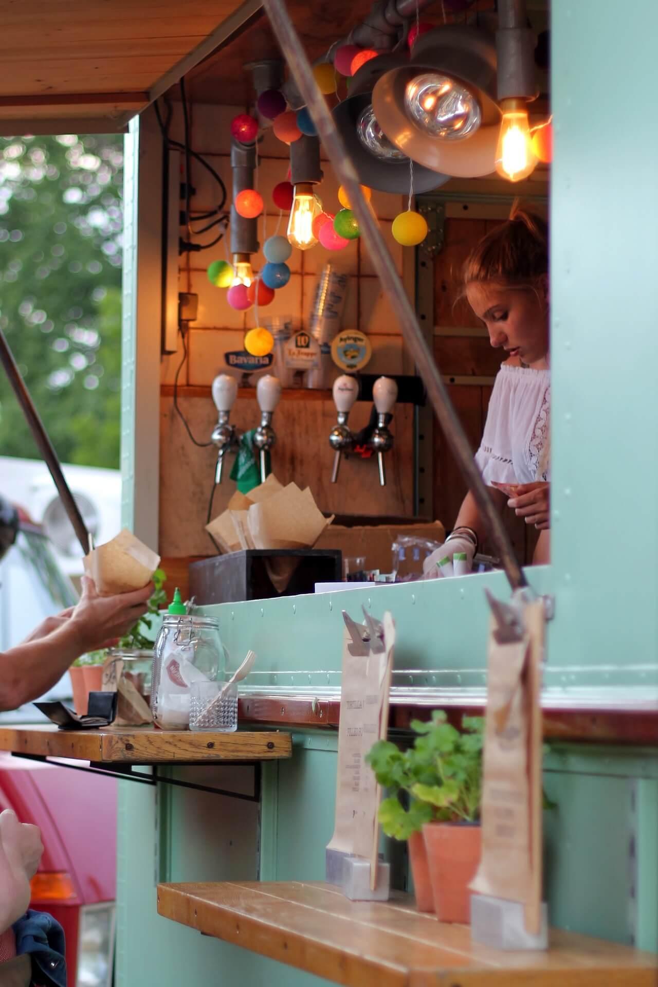 Foodtruck auf einem Streetfood Festival