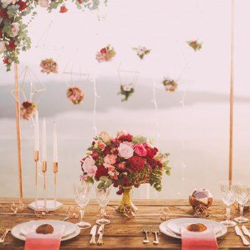 Die richtige Dekoration gibt ihrer Hochzeit den persönlichen touch!