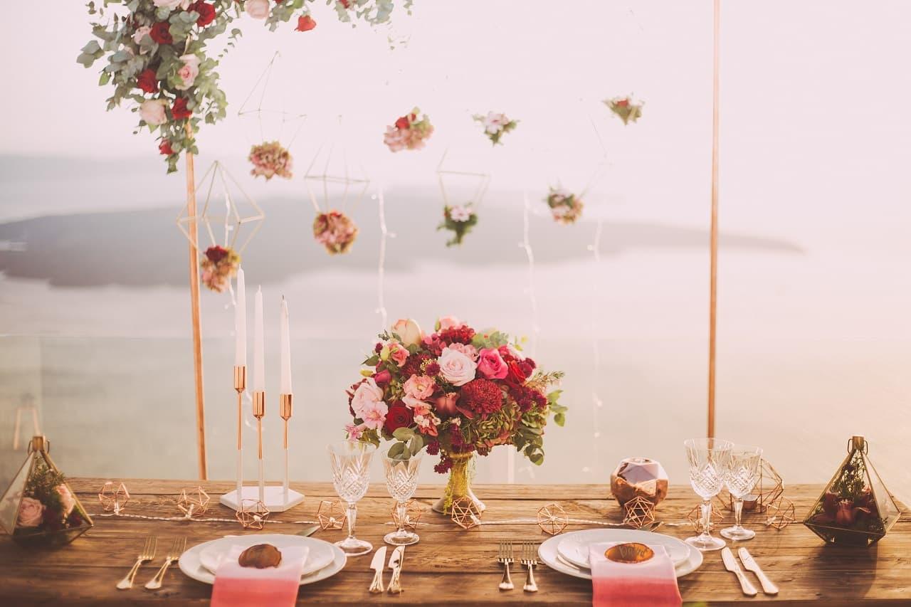 Hochzeitsdecoration - Tipps und Trends