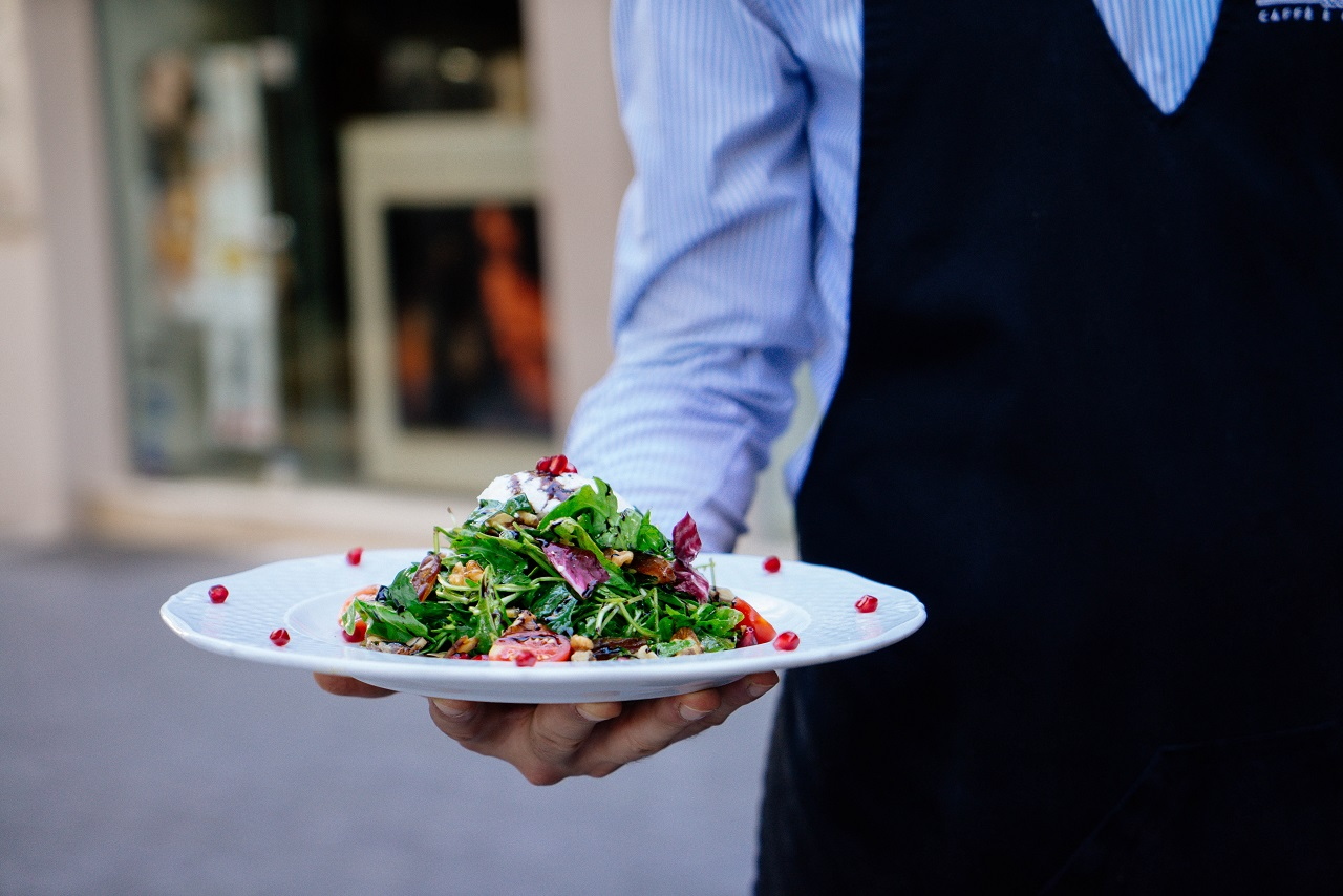 Service beim Convention Catering