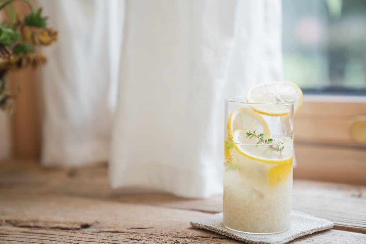Limonaden im Sommer
